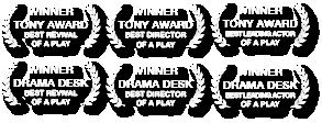 Virginia Woolf Broadway Awards